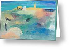 Dreamland Greeting Card by Helene Henderson