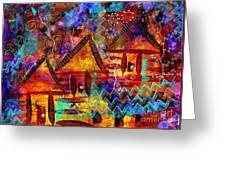 Dreamland - My Imaginary Getaway Greeting Card