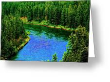 Dreamriver Greeting Card