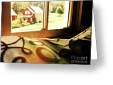 Dreams From The Window Seat Greeting Card