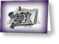 Dreams Of Metamorphosis Greeting Card