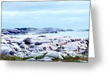 Dreamy Coastal Scene Greeting Card