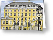 Dresden Taschenberg Palace - Celebrate Love While It Lasts Greeting Card