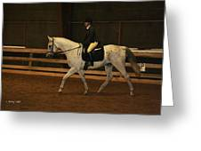 Dressage Looking Good Greeting Card