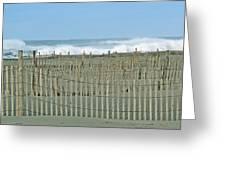 Drift Fence Greeting Card