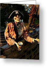 Drink To Death Greeting Card