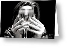 Drinks On Me Greeting Card