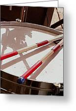 Drum At Rest Greeting Card