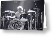 Drumming Greeting Card