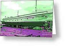 Dry Dock Greeting Card