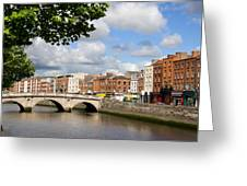 Dublin Cityscape Greeting Card