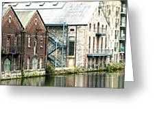 Dublin. Old Harbour Greeting Card