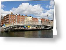 Dublin Scenery Greeting Card