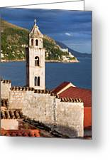 Dubrovnik Architecture Greeting Card