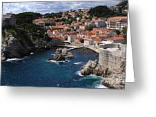 Dubrovnik By The Sea Greeting Card