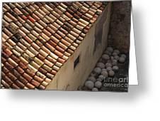 Dubrovnik Rooftop Greeting Card