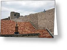 Dubrovnik View 4 Greeting Card