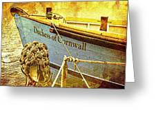 Duchess Of Cornwall Greeting Card