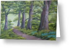 Duff House Path Greeting Card