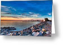Duluth Harbor Greeting Card