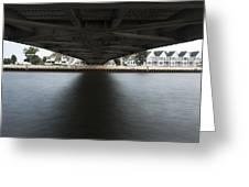 Duluth Lift Bridge Under 2 Greeting Card