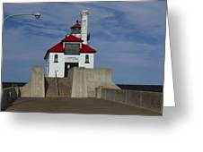 Duluth S Pierhead 23 Greeting Card