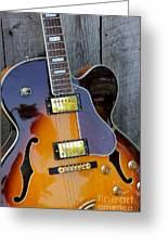 Duncan Guitar Greeting Card