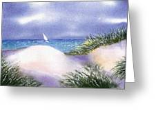 Dune View Greeting Card
