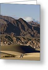 Dunes Of Death Valley Greeting Card