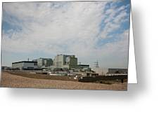 Dungeness Power Station Greeting Card