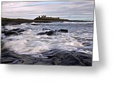 Dunstanburgh Castle Iv Greeting Card