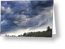 Dupee Valley Sundown Img 432336---2012 Greeting Card