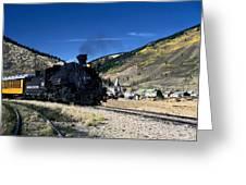 Durango And Silverton Train Greeting Card