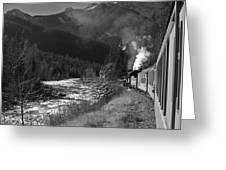 Durango Silverton 2 Greeting Card