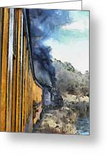 Durango Silverton Painterly 3 Greeting Card