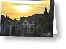 Dusk In Oxford  Greeting Card