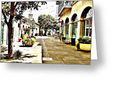 Dutch Alley  Greeting Card