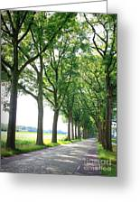 Dutch Country Road Greeting Card