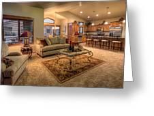 Dvth Living Room Greeting Card