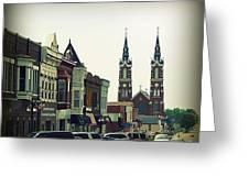 Dyersville In Iowa Greeting Card
