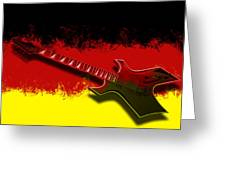 E-guitar - German Rock II Greeting Card