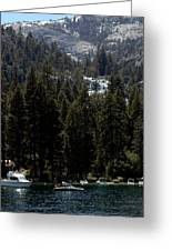 Eagle Falls Emerald Bay Greeting Card