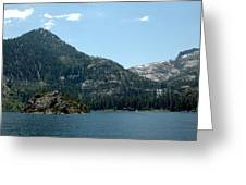 Eagle Falls In Emerald Bay Greeting Card