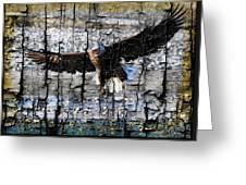 Eagle Imprint Greeting Card