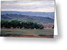 Eagle Ranch Greeting Card by Victoria  Broyles
