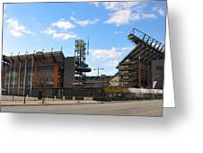 Eagles - The Linc Greeting Card