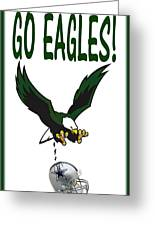 Eagles Vs Dallas Greeting Card