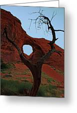 Ear Of The Wind Greeting Card