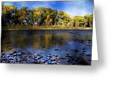 Early Fall At The Headwaters Of The Rio Grande Greeting Card by Ellen Heaverlo