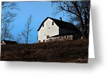 Early Morning Barn Greeting Card